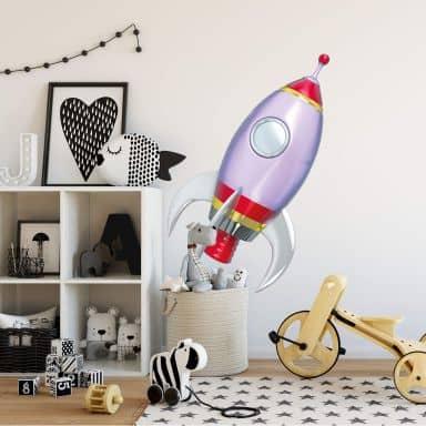 Michel Agullo - Rocket Wall sticker
