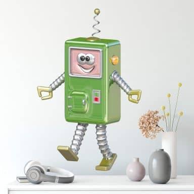 Adesivo murale Michel Agullo - Robot Kone