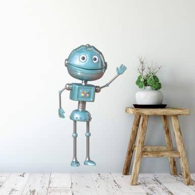 Adesivo murale Michel Agullo - Robot Todd