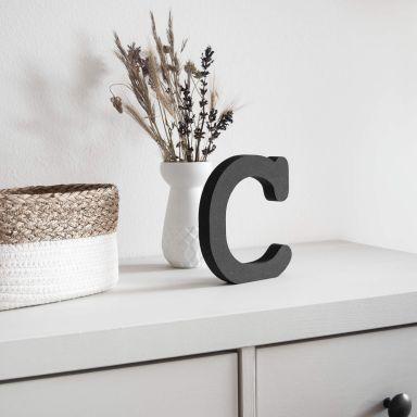 Lettere in legno MDF - Alfabeto Courier