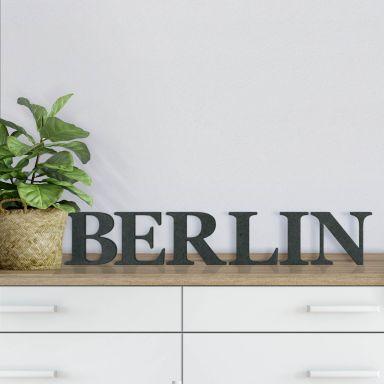 Lettere in legno MDF - Berlin