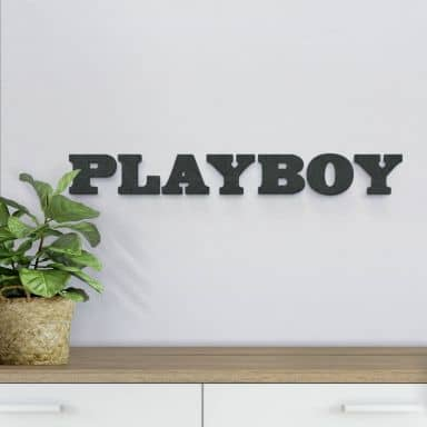 MDF Letters - Playboy