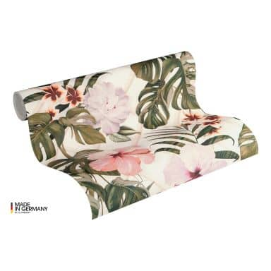 Michalsky Living Vliestapete Dream Again Blumentapete floral grün, rosa, weiß