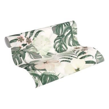 Michalsky Living Vliestapete Dream Again Blumentapete floral creme, grün, weiß