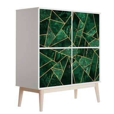 Pellicola per mobili Fredriksson - Smeraldo