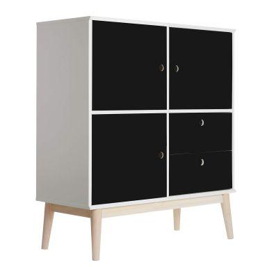 Sticker meuble - Uni noir
