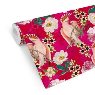 Mustertapete UN Designs - Paradiesisch Pink