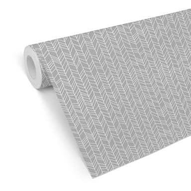 Mustertapete - abstrakte Linien - schwarzweiß