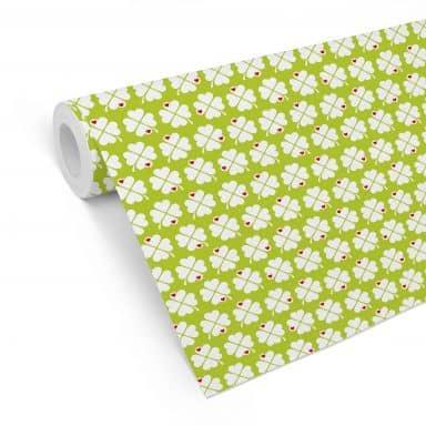 Patterned Wallpaper - Clover