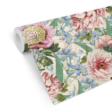 Mustertapete UN Designs - Vintage Blüten