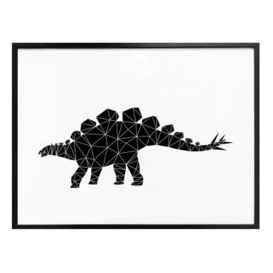Poster Nouveauprints - Geometric Dinosaur