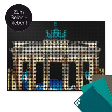 Dot-On DIY Stickerposter - Berlijn - 50x70 cm