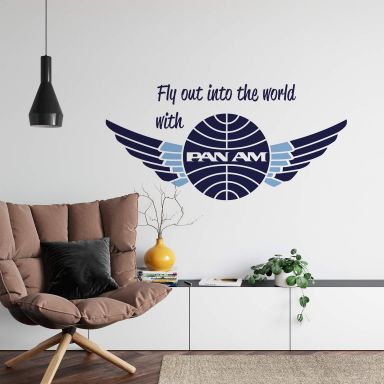 Wandtattoo PAN AM - Fly Out