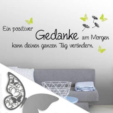 Wandtattoos mit 3D Schmetterlingen | wall-art.de