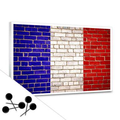 French Flag Bulletin Board
