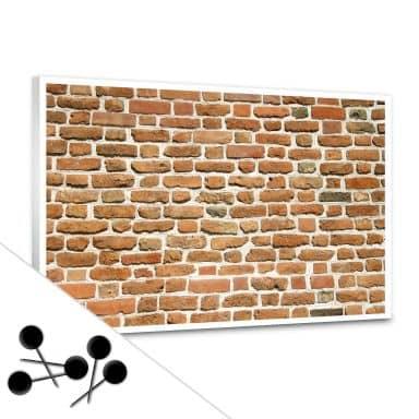 Brick Wall 2 Bulletin Board