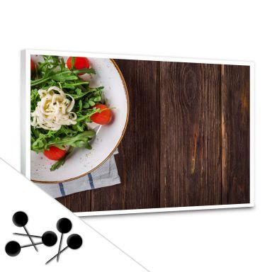 Memoboard Rucola und Tomaten inkl. 5 Pinnadeln