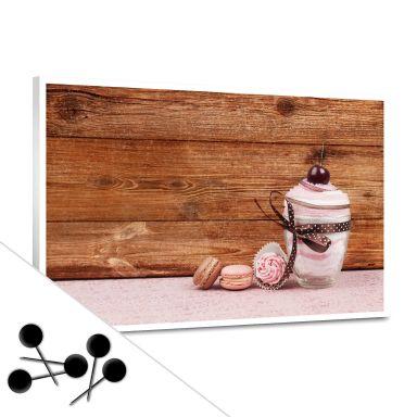 Pinnwand Sweet Dessert inkl. 5 Pinnadeln