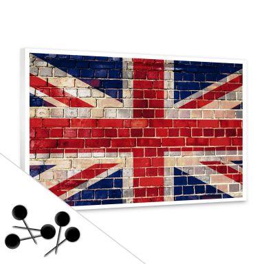 Union Jack Bulletin Board