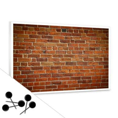 Brick Bulletin Board