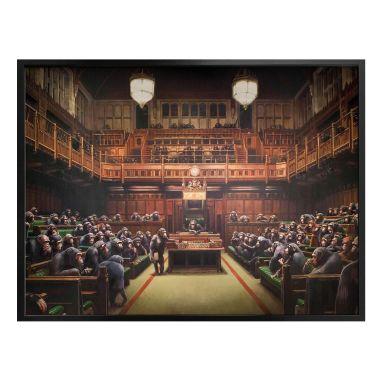 Poster Banksy - Monkey Parliament