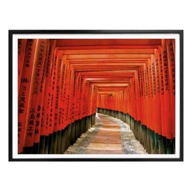Poster Asiatischer Garten