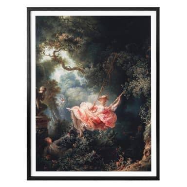 Poster Fragonard - de Schommel