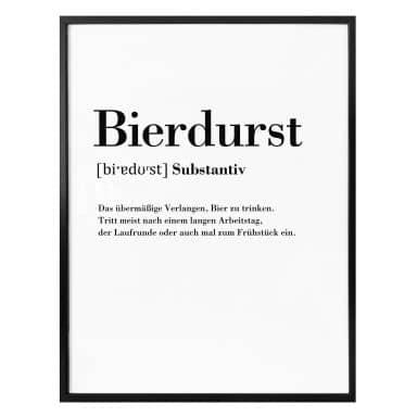 Poster - Bierdurst