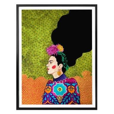 Poster Hülya - Frida im Portrait