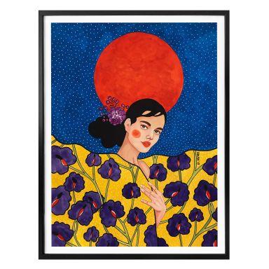 Poster Hülya - Vergeude die Nacht