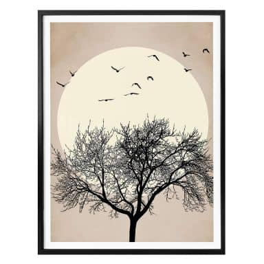 Poster Kubistika - Dreaming of Winter