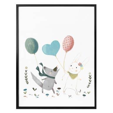 Poster Loske - Ballons