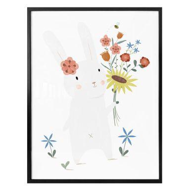 Poster Loske - Kleiner Hase