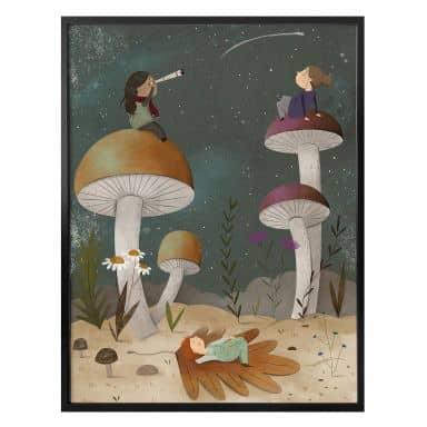 Poster Loske - Sterne am Himmel