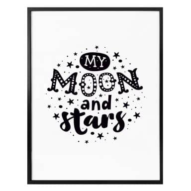 Poster My Moon and Stars