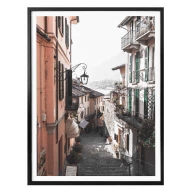 Poster Colombo - Ruelle à Bellagio