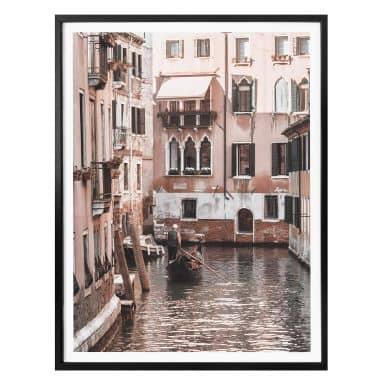 Poster Colombo - Kanal in Venedig