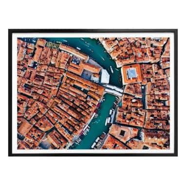 Poster Colombo - Venise vue du ciel