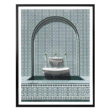 Poster Colombo - Verzierter Brunnen