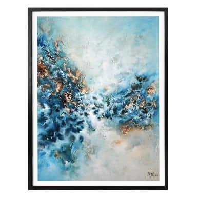 Poster Fedrau - Blue Wonder