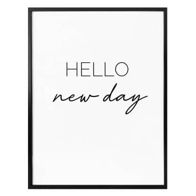 Poster - Hello new day