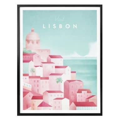 Poster Rivers - Lisbonne
