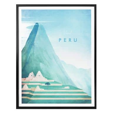 Poster Rivers - Peru