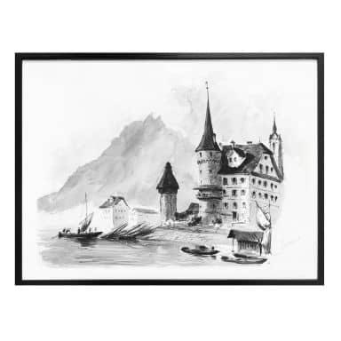 Poster Sargent - Lucerne