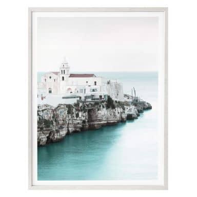 Poster Colombo - Altstadt in Apulien