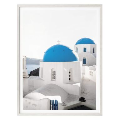 Poster Colombo - Toits bleus