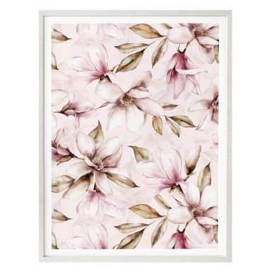 Poster UN Designs - Soft Magnolia