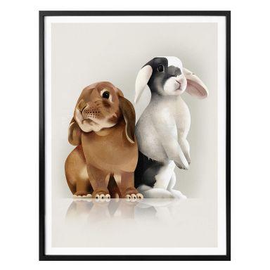 Poster Braun - Bunny Love