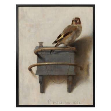 Poster Fabritius - Il cardellino