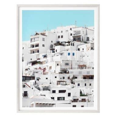 Poster Hugonnard - Sommer in Spanien